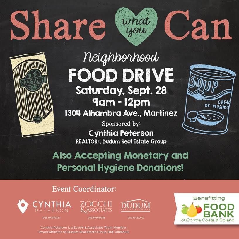 Downtown Martinez Neighborhood Food Drive