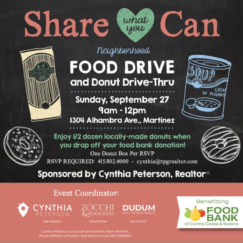 Second Annual Neighborhood Food Drive + Donut Drive-Thru Day